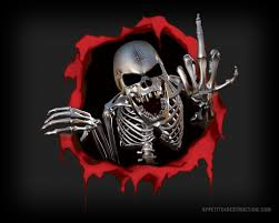 cool skull and crossbones wallpaper