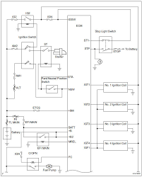 Toyota RAV4 Service Manual: System diagram - Sfi system - 2Az-fe ...