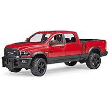 Amazon.com: Bruder Ram 2500 Power Pick Up Truck Vehicle: Toys & Games