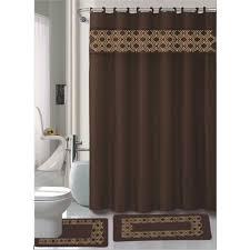 Maroon Bathroom Accessories 15 Pc Bathroom Accessories Set Bath Mat Contour Rug Shower