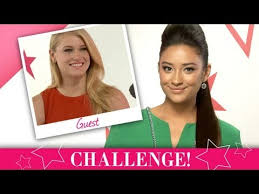 futuristic makeup challenge shay mitc with the hunger games leven rambin