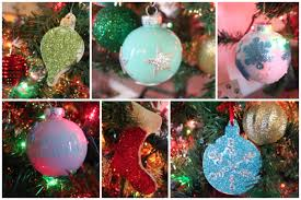 diy ornaments glitter ornaments and paint filled ornaments crafty 4 you