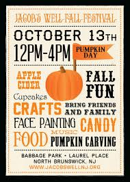 Fall Festival Flyer Free Template