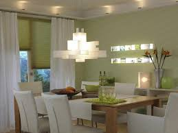 image of nice dining room lighting