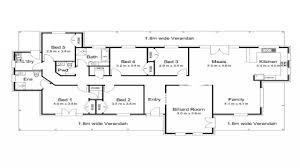 5 Bedroom Modern House Plans Modern House