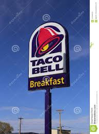 taco bell sign. Modren Sign Download Taco Bell Restaurant Sign Editorial Stock Photo Image Of  Franchise  121348123 Intended M