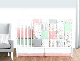 mint green crib bedding