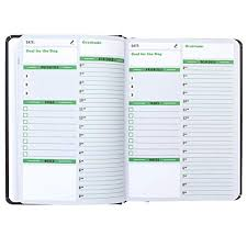 Daily Journal Planner Dated Daily Notebooks Amazon Com