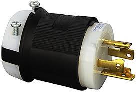 hubbell hbl locking plug amp phase v l p hubbell hbl2721 locking plug 30 amp 3 phase 250v l15 30p