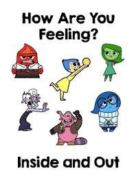 Inside Out Feelings Chart Printable Inside Out Zones Of Regulation Worksheets Teaching