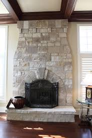 Natural Stone Fireplace Designs by Battaglia Homes - Battaglia ...
