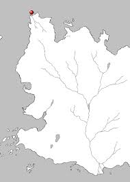 map showing the location of braavos on the continent of essos braavos map game thrones