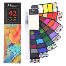 <b>20 Colors</b> Watercolor Brush Premium <b>Painting Soft</b> Brush Marker ...