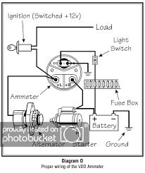 vdo ammeter wiring diagram change your idea wiring diagram vdo voltmeter wiring diagram wiring diagram libraries rh w105 mo stein de vdo ammeter shunt wiring diagram vdo tach wiring
