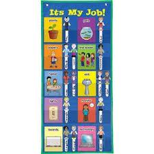 Its My Job Space Saver Pocket Chart Education