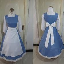 Belle Blue Dress Pattern Mesmerizing Adult Princess Belle Blue Dress Costume Beauty And The Beast