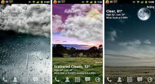 50 android live weather wallpaper on