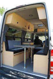 Converted Vans 401 Best Camper Sprinter Van Cargo Trailer Conversion Images On