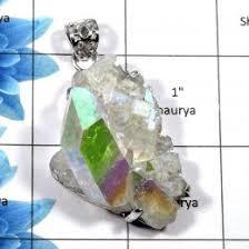 sunshine druzy 756 sparkling natural sunshine druzy gemstone solid 925 sterling silver g setting pendant