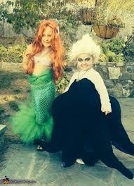little mermaid and ursula costume