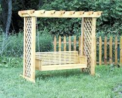 yard swing plans frame stand wooden free yard swing plans outdoor porch frame
