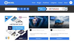 Blogger Templates 2020 Best Customizable Article Writing Responsive Blogger Theme