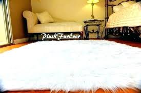 fur rugs carpets heart faux white area rug reviews inside