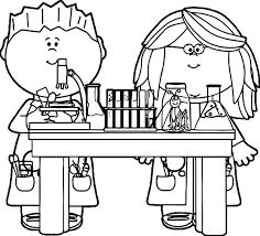 Science Coloring Pages Pdf Printable Coloring Page For Kids