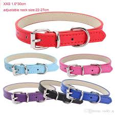 2019 size s soft back suede adjustable leather pet collar for puppy dog cat outdoor walking supplies training multicolor from vicky q 10 96 dhgate com