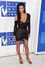 See Thru Tv Kim Kardashian Wears See Through Dress At Vmas Ny Daily News
