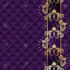 Purple Background Designs Elegant Gold And Purple Background Inspired By Rococo Era Designs