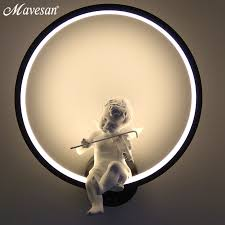 Online Shop <b>Modern</b> wall lamps for bedroom white or balck color for ...
