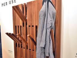 Folding Coat Racks 100 Gorgeous Green Designs From Belgium's Biennale Interieur 20100 26