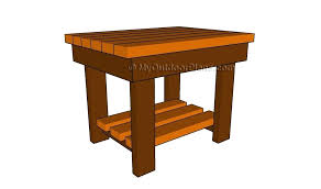 end table plans pdf farmhouse diy wedding plan for long tables patio free woodworking and architectures