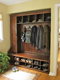 Coat And Boot Rack DIY Built in mudroom coat boot and hat oragnizer DIY Farm Home 5