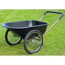 How To Build A Garden Cart Using Bicycle Wheels Garden Cart HelpfulGardener
