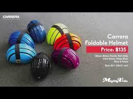 Carrera Foldable Helmet Size Chart Mighty Velo Carrera Foldable Helmet Youtube