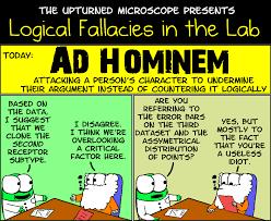 effective arguing beware of logical red herrings operational ad hominem