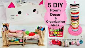 diy decorated storage boxes. 5 DIY Room Decors And Organization Ideas:DIY Animal Storage Box, Desk Organizer, Ribbon Stand, Etc - YouTube Diy Decorated Boxes