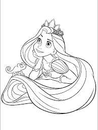 Small Picture Print baby princess disney rapunzel coloring pages Princess