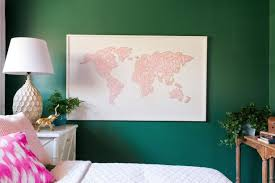 diy large scale string art world map on diy string map wall art with how to make a large scale world map string art hgtv