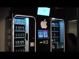 Iphone Vending Machine Awesome Automated Retail Spot Shop YouTube