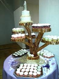 tree slice cake stand crafty wood slab cupcake stand fresh ideas org winsome design 7 easiest