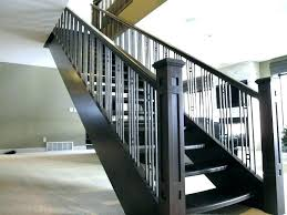 install galvanized pipe handrail diy stair rail railing handrails for stairs yourself