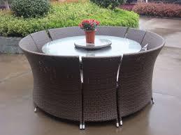 round patio furniture set