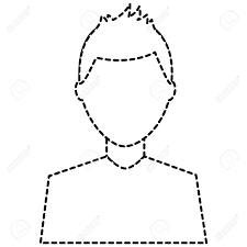 Find & download free graphic resources for dotted line. Man Avatar Profile Icon Image Vector Illustration Design Black Royalty Free Cliparts Vectors And Stock Illustration Image 92182513