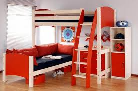 awesome loft beds with desk and couch. Plain Couch Awesome Loft Bed With Desk And Couch In Beds M
