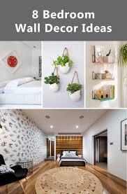 bedroom wall decor ideas to liven up posh