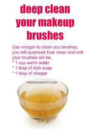 3 diy makeup brush cleaners to deep clean your brushes