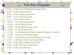 A Preschool Daily Routine Effective Transitions